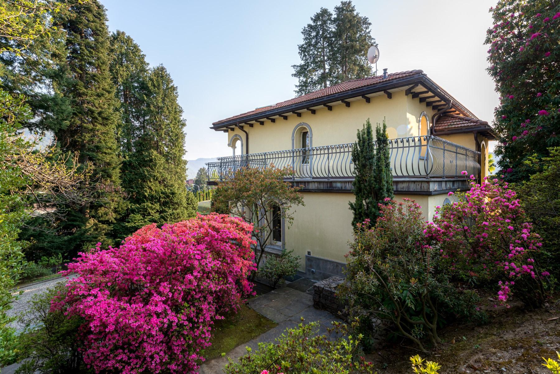 Lake Lugano, Gentilino – Villa at 500 sqm