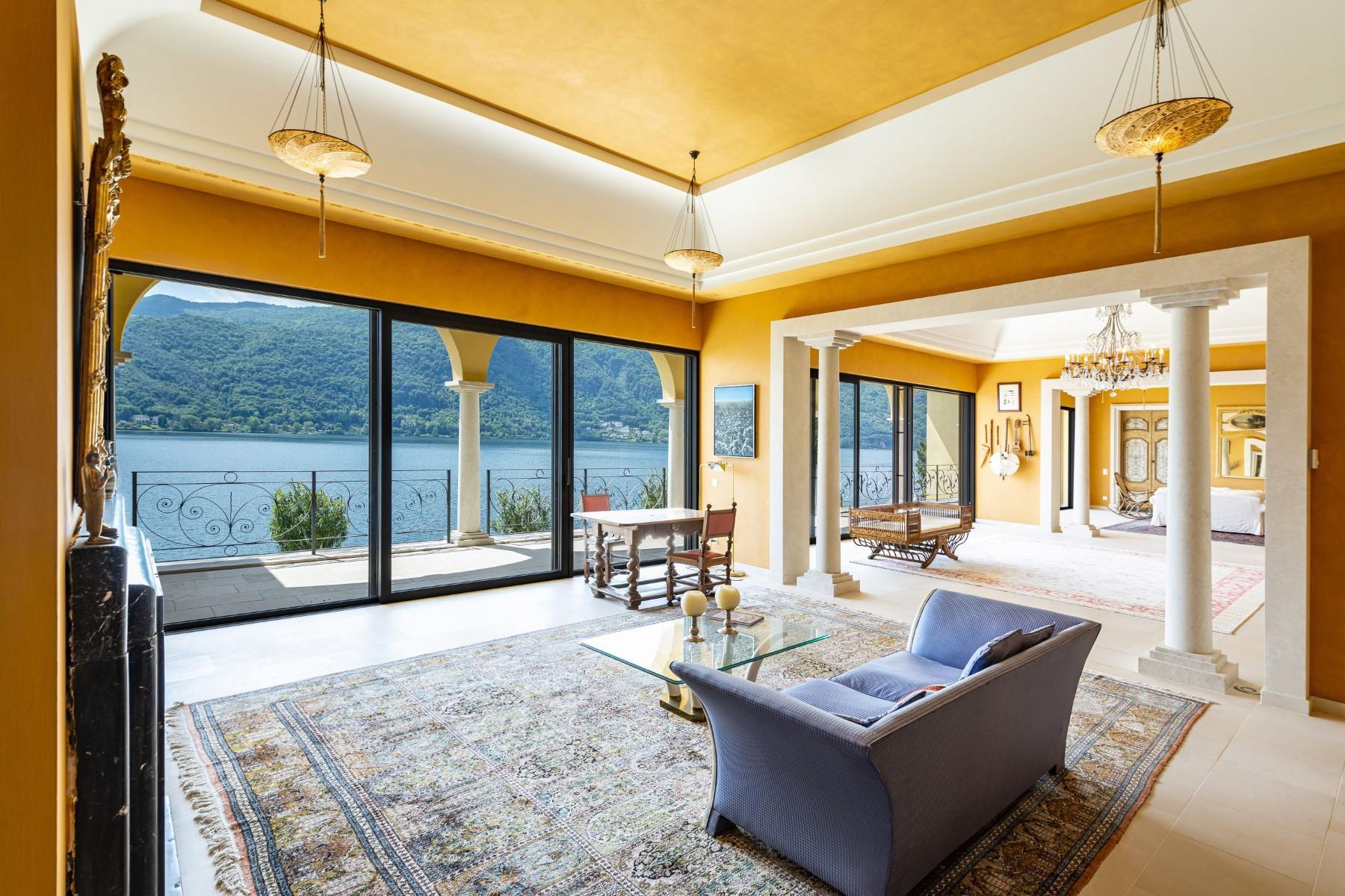 Lake Lugano, Morcote – Villa at 1.000 sqm