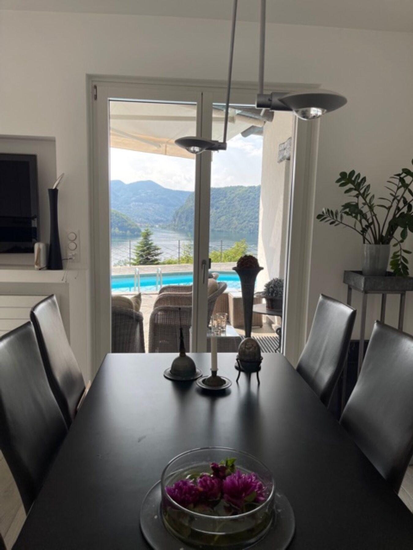 Lake Lugano, Figino – Villa at 180 sqm